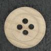 Ref001883 Botón Redondo en colores marron y  madera