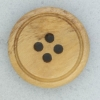 Ref001895 Botón Redondo en colores marron y  madera