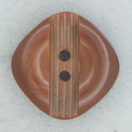 Ref002021 Botón Cuadrado en color marron