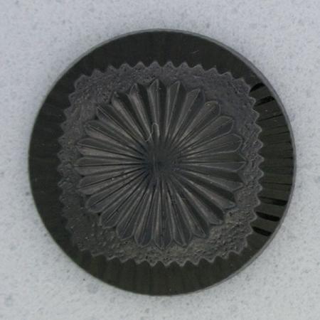 Ref000007 Botón Redondo en color negro