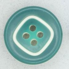 Ref002049 Botón Redondo en colores verde y blanco