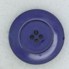 Ref002052 Botón Redondo en color azul