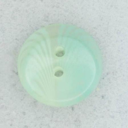 Ref002082 Botón Redondo en colores celeste y turquesa y transparente