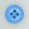 Ref002109 Botón Redondo en colores azul y turquesa