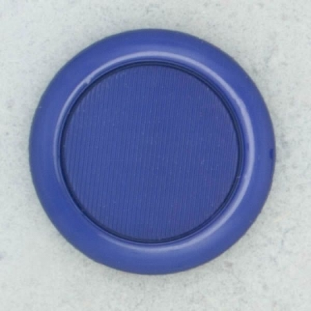 Ref002126 Botón Redondo en colores azul y azul marino