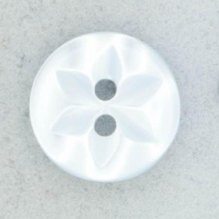 Ref002128 Botón Redondo en color celeste