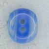 Ref002136 Botón Ovalado en color azul