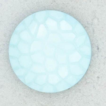 Ref002160 Botón Redondo en colores celeste y turquesa