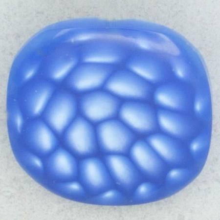 Ref002179 Botón Cuadrado en color azul