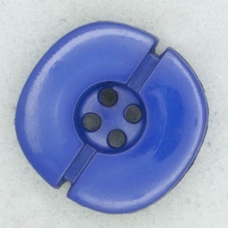 Ref002203 Botón Redondo en color azul
