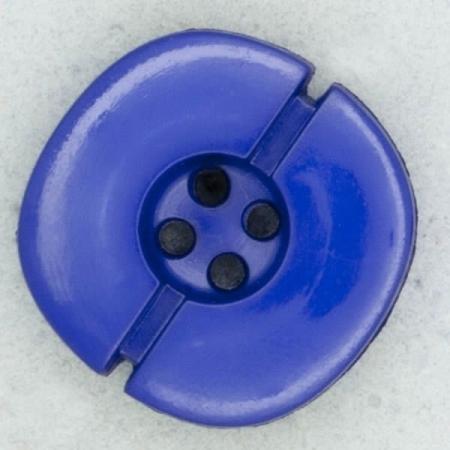 Ref002204 Botón Redondo en colores azul y azul marino