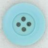 Ref002218 Botón Redondo en colores turquesa y  verde
