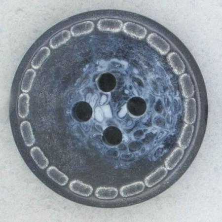 Ref002238 Botón Redondo en color azul marino