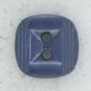 Ref002242 Botón cuadrado en color azul marino