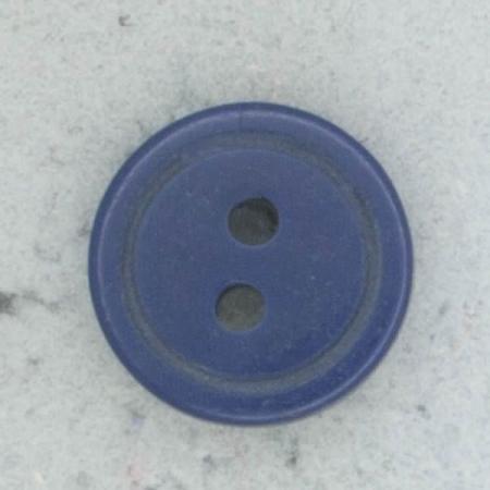 Ref002253 Botón Redondo en color azul marino