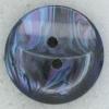 Ref002254 Botón Redondo en colores azul marino y  morado