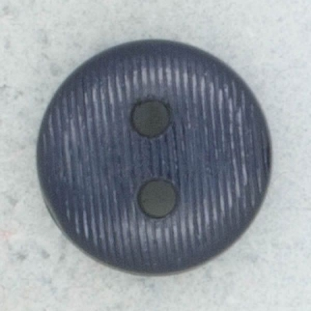 Ref002257 Botón Redondo en color azul marino
