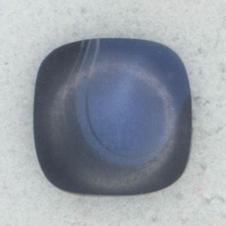 Ref002260 Botón cuadrado en color azul marino