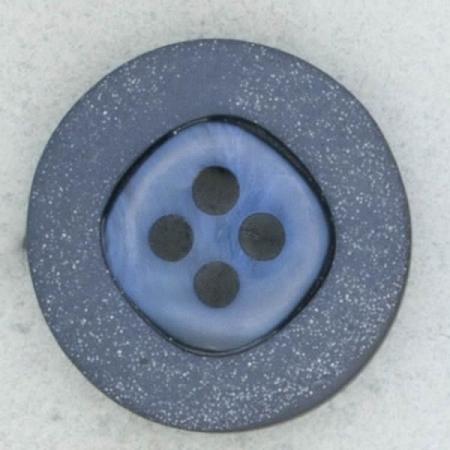 Ref002265 Botón Redondo en color azul marino