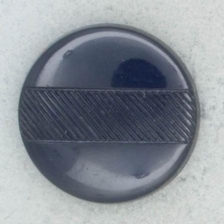 Ref002266 Botón Redondo en color azul marino