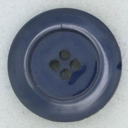 Ref002269 Botón Redondo en color azul marino