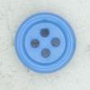 Ref002286 Botón Redondo en colores turquesa y  azul
