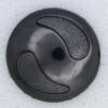 Ref000010 Botón Redondo en color negro