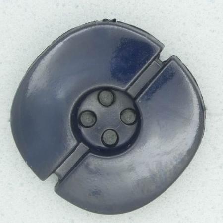 Ref002346 Botón Redondo en color azul marino