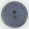 Ref002352 Botón Redondo en color azul marino