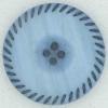 Ref002368 Botón Redondo en color azul