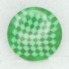 Ref002393 Botón Redondo en color verde