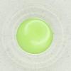 Ref002403 Botón Redondo en colores verde y  transparente