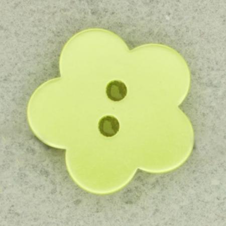 Ref002482 Botón Estrella, flor en colores amarillo y verde