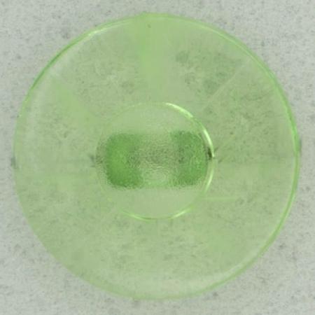 Ref002488 Botón Redondo en colores verde y transparente
