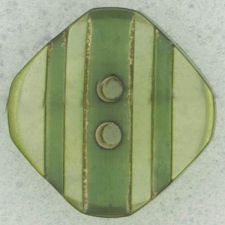 Ref002503 Botón Cuadrado en colores verde y transparente
