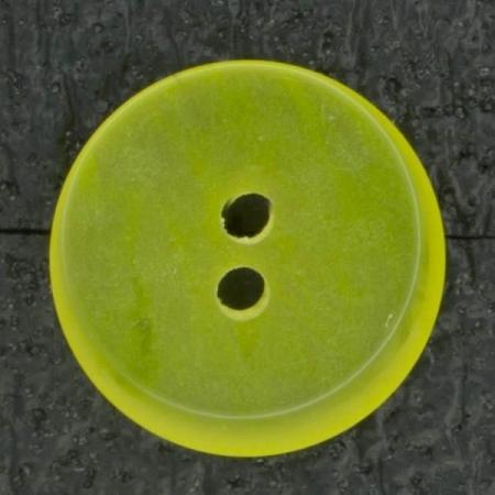 Ref002509 Botón Redondo en colores amarillo y negro
