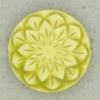 Ref002513 Botón Redondo en color verde