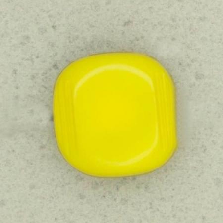 Ref002523 Botón Cuadrado en colores verde y amarillo
