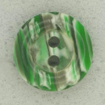 Ref002526 Botón Redondo en colores verde y blanco
