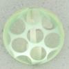 Ref002546 Botón Redondo en colores verde y transparente