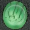 Ref002556 Botón Ovalado en color verde