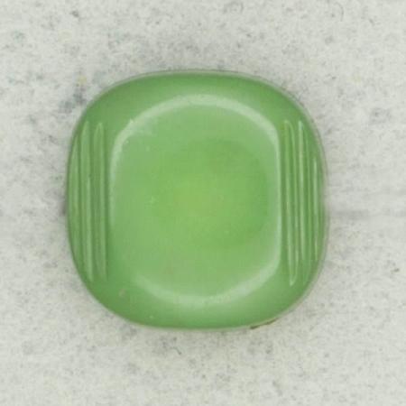 Ref002578 Botón Cuadrado en color verde