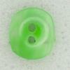 Ref002580 Botón Ovalado en color verde