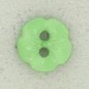 Ref002594 Botón Redondo, flor, estrella en color verde