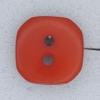 Ref000256 Botón Cuadrado en color rojo