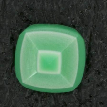 Ref002620 Botón Cuadrado en color verde