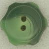 Ref002642 Botón Redondo, flor, estrella en color verde