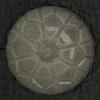 Ref002658 Botón Redondo en color gris