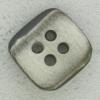 Ref002676 Botón Cuadrado en color gris