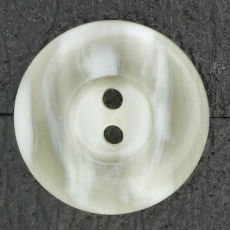 Ref002677 Botón Redondo en colores gris y beige